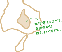 北播磨の場所イラスト